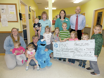 PNC Donates $3,000 to Local Day Care Center